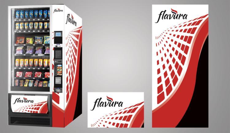 Flavura Design Service: Beispiel: Vending Automaten, Verkaufsautomaten, Warenautomaten, Foodautomaten, Snackautomaten, Verpflegungsautomaten
