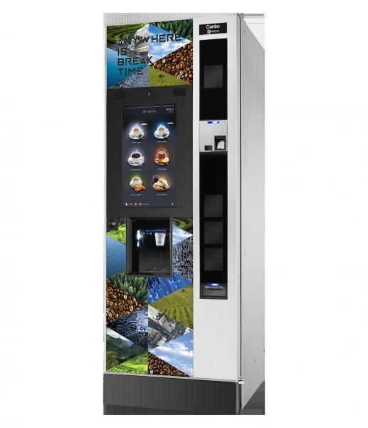 Necta Canto Touch by Flavura Kaffeeautomat, Kaffeevollautomat, Kaffeemaschine