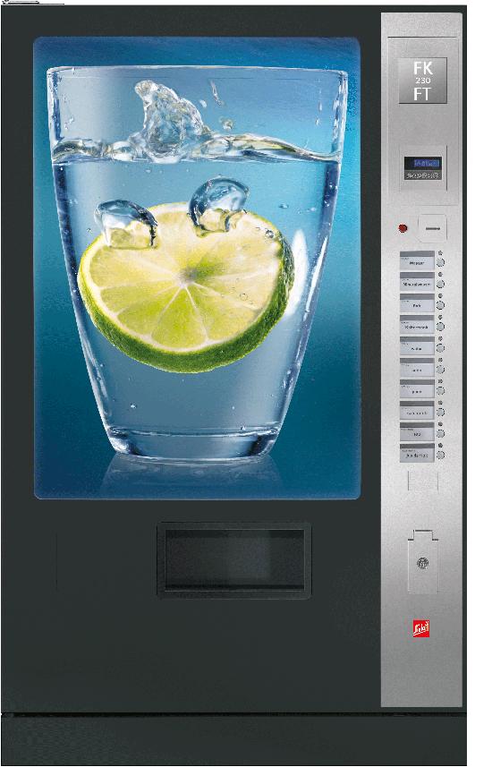 Sielaff FK 320 FT by Flavura: Kaltgetränkeautomat, Getränkeautomat, Verkaufsautomat, Warenautomat