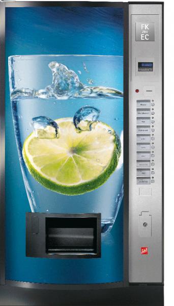Sielaff FK 280 EC by Flavura: Kaltgetränkeautomat, Getränkeautomat, Verkaufsautomat
