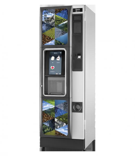 Necta Opera Touch by Flavura Kaffeeautomat, Kaffeevollautomat, Kaffeemaschine