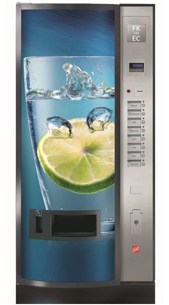 Sielaff FK 185 EC by Flavura: Kaltgetränkeautomat, Getränkeautomat, Verkaufsautomat