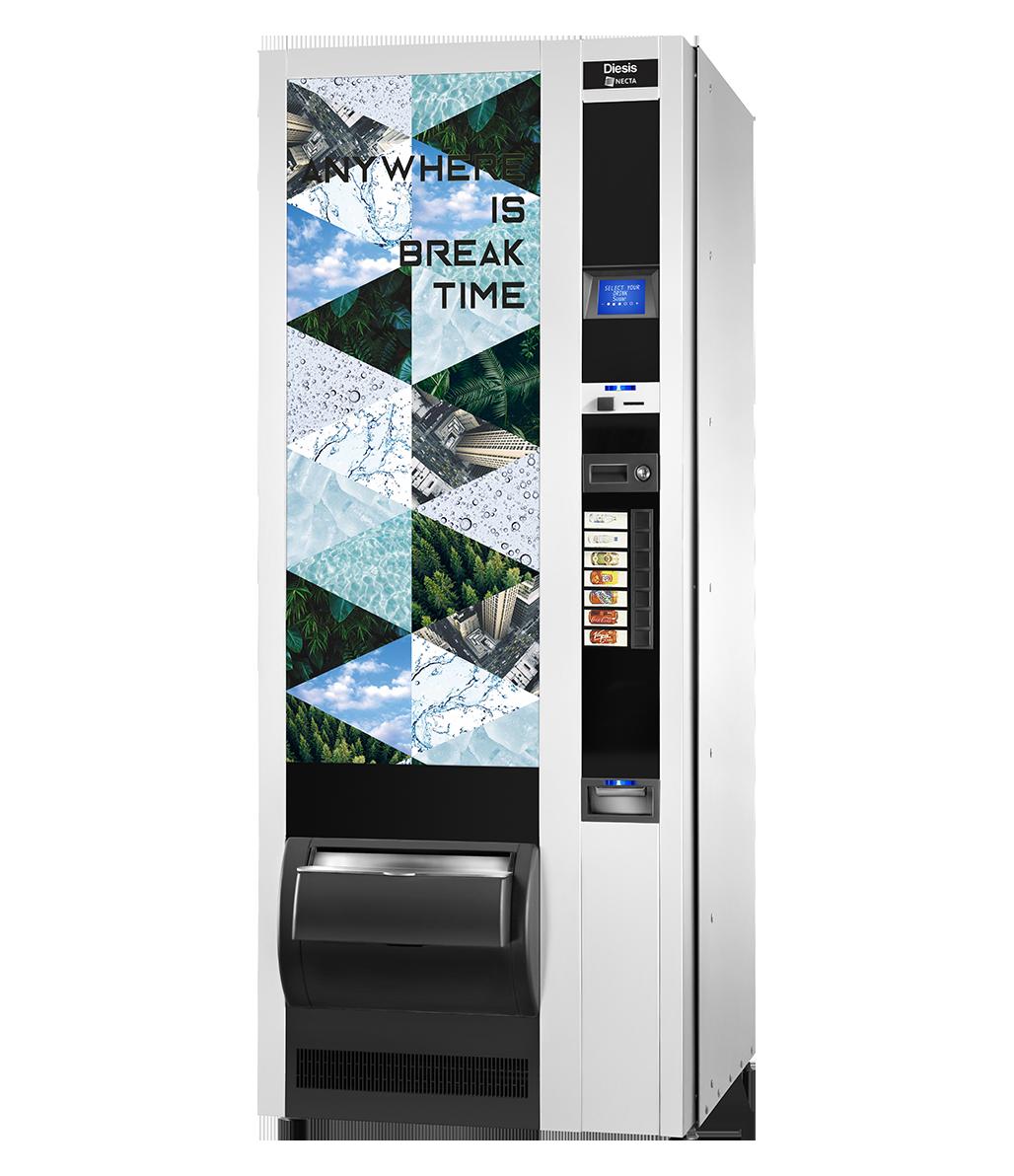 Necta: Gebrauchte Getränkeautomaten by Flavura: Getränkeautomaten Hersteller & Automatenhersteller Necta