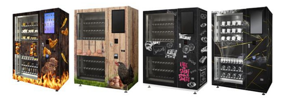 Flavura Warenautomat Pro Touch: Verkaufsautomat