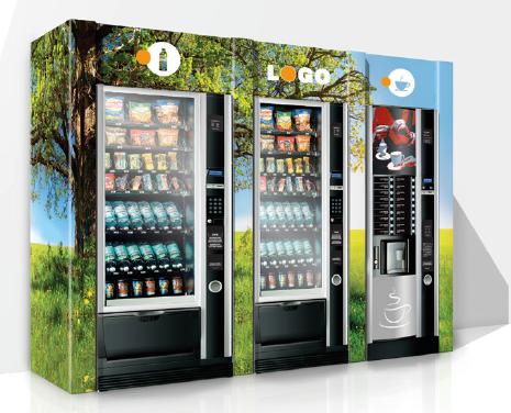 Umhausung & Verkleidung Payer 03 aus Karton für Vending Automaten & Automatenstationen by Flavura