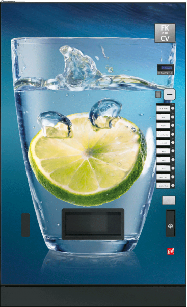 Sielaff FK 230 CV by Flavura: Kaltgetränkeautomat, Getränkeautomat, Verkaufsautomat