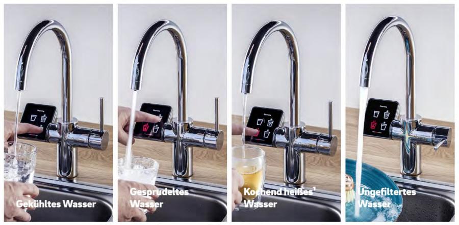 Trinkwasserarmatur RE.SOURCE by Flavura