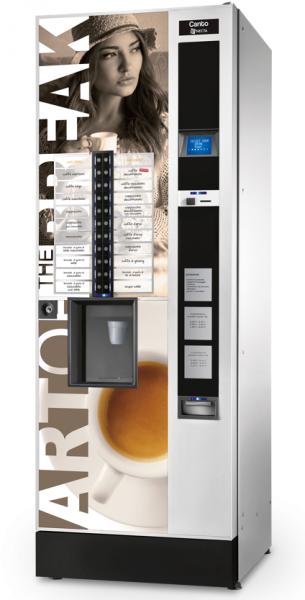 Necta Canto Plus by Flavura Kaffeeautomat, Kaffeevollautomat, Kaffeemaschine