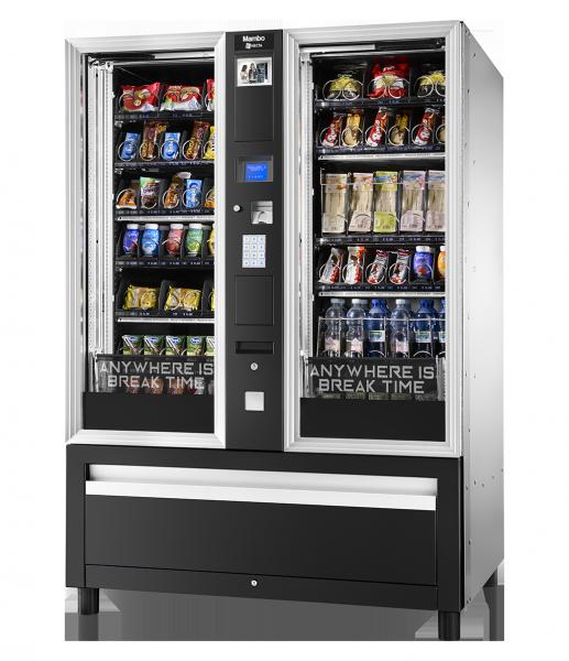 Necta Mambo Vending Kombiautomat by Flavura Foodautomat, Snackautomat, Verkaufsautomat, Warenautomat