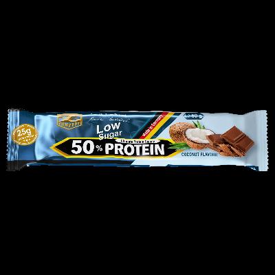 Protein Riegel Tropical Mango: 50% Crunch Protein Bar, 50g by Flavura & Z-Konzept