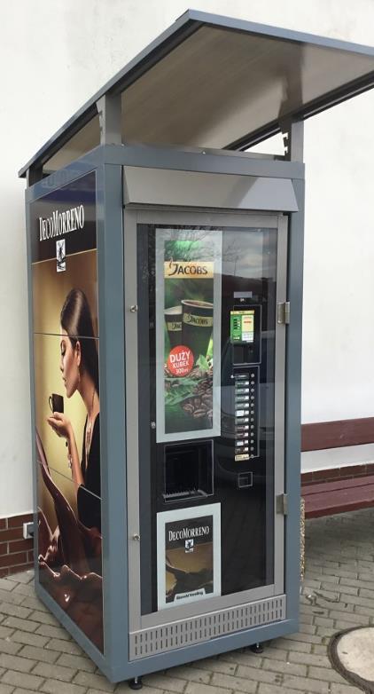 Wetterfeste Outdoor Umhausung & Verkleidung aus Metall für Kaffeeautomaten & Automatenstationen by Flavura: Kaffeeautomaten, Kaffeevollautomaten