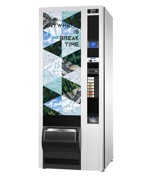 Necta Diesis by Flavura Getränkeautomat, Kaltgetränkeautomat, Verkaufsautomat, Warenautomat
