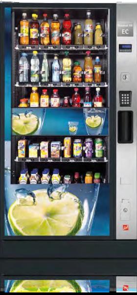 Sielaff Robimat Kaltgetränkeautomat by Flavura: Getränkeautomat, Verkaufsautomat
