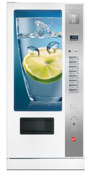 Sielaff FK 220 FT by Flavura: Kaltgetränkeautomat, Getränkeautomat, Verkaufsautomat, Warenautomat