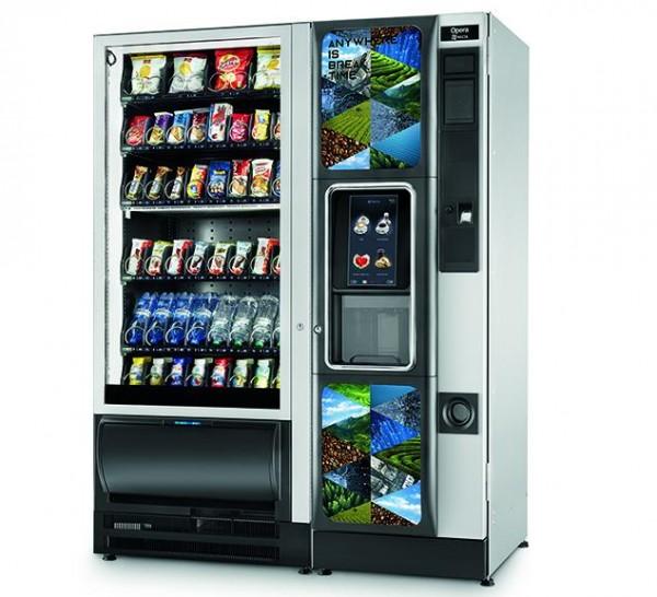 Necta Tango SL Opera Touch Vending Kombiautomat by Flavura: Master-Slave-Automat