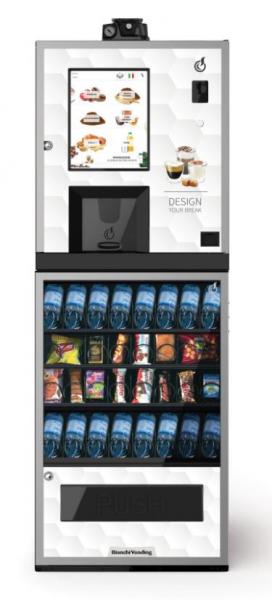 Bianchi Vending Kombiautomat LEI300 EVO + ARIA S EVO by Flavura Snackautomat, Kaffeeautomat