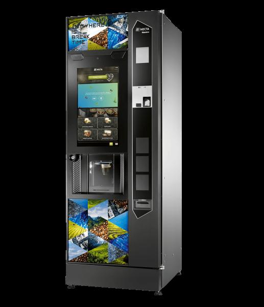 Necta Maestro Touch Kaffeeautomat by Flavura: Heißgetränkeautomat, Standautomat